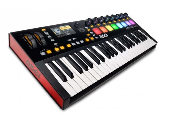 Teclados MIDI Controladores Akai Advance 49