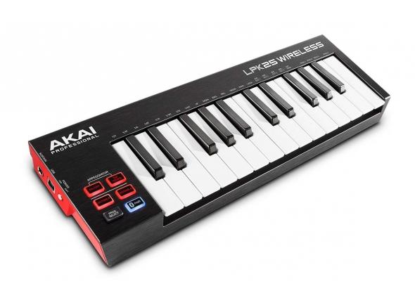 Teclados MIDI Controladores Akai LPK 25 wireless B-Stock