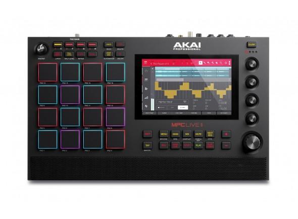 Sequenciadores de ritmos Akai MPC Live II