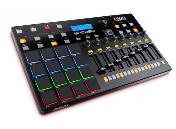 Controladores DJ Akai MPD 232