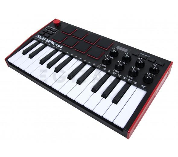Teclados MIDI Controladores Akai MPK Mini Mk3