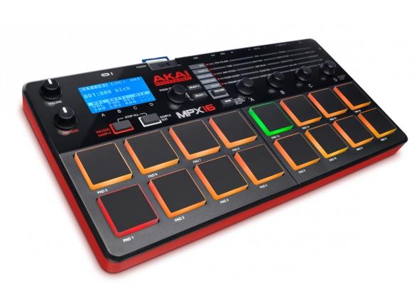 Controladores DJ Akai MPX16