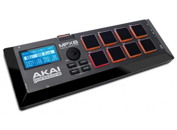 Sintetizadores e Samplers Akai MPX8