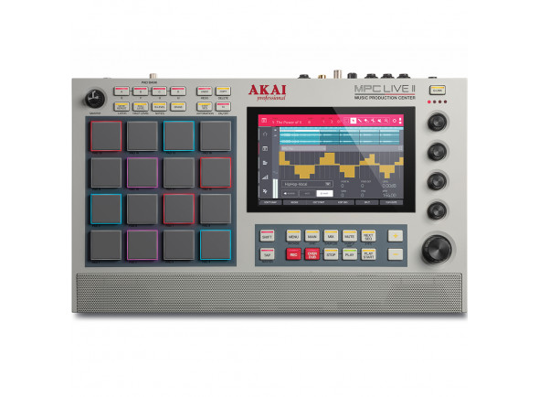 Sequenciadores de ritmos Akai Professional MPC Live II Retro Edition B-Stock