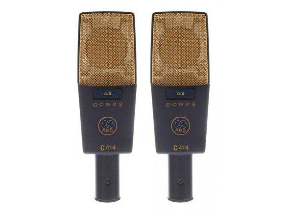 Microfone de membrana grande/Microfone de membrana grande AKG C414 XLII Stereo Set