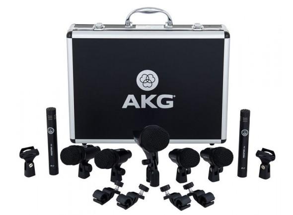 Conjunto de microfones para bateria/Conjunto de microfones para bateria AKG DRUM Set Session 1
