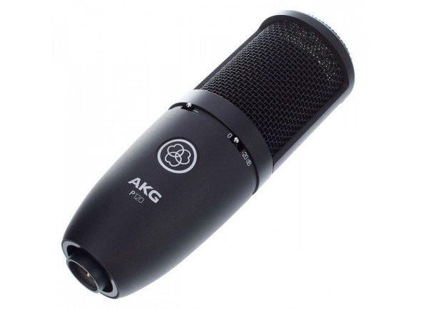 Microfones de estúdio AKG P120