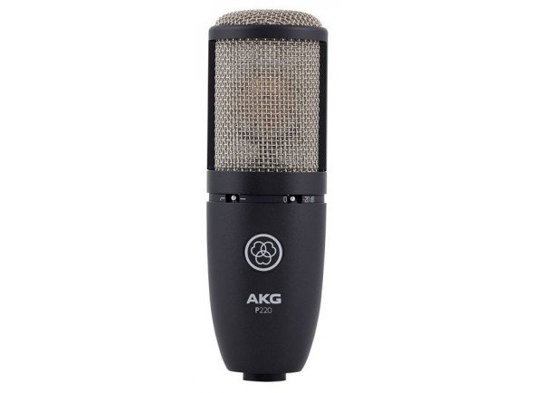 Microfone de membrana grande/Microfones de estúdio AKG P220