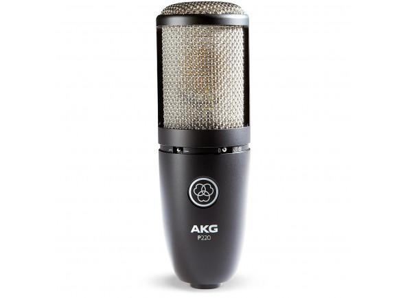 Microfone Condensador Membrana Grande/Microfone de membrana grande AKG  P220