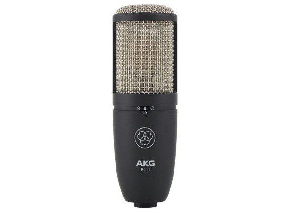 Microfone de membrana grande/Microfones de estúdio AKG P420