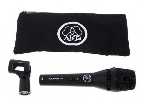 Microfone Vocal Dinâmico AKG P5 S
