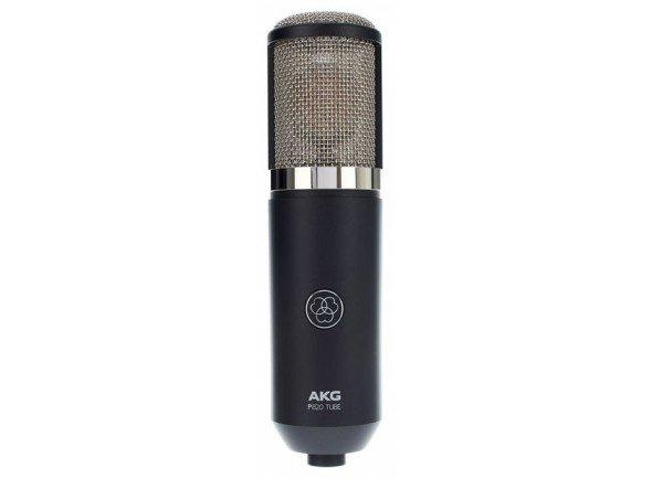 Microfone de membrana grande/Microfones de estúdio AKG P820 Tube