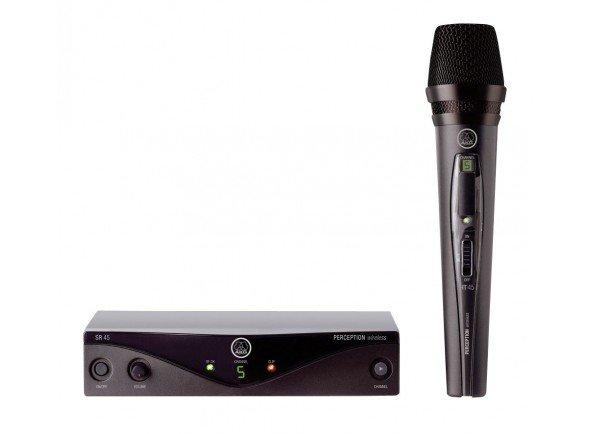 Sistema sem fios com microfone de mão/Sistema sem fios com microfone de mão AKG PW45 Vocal