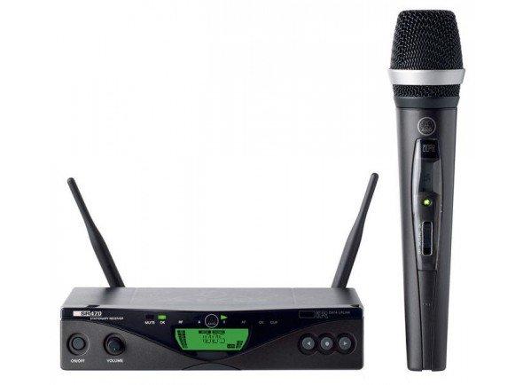 Sistema sem fios com microfone de mão/Sistema sem fios com microfone de mão AKG WMS470 D5 Set