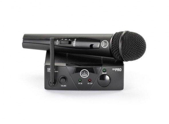 Sistema sem fios com microfone de mão/Sistema sem fios com microfone de mão AKG WMS40 Mini Vocal