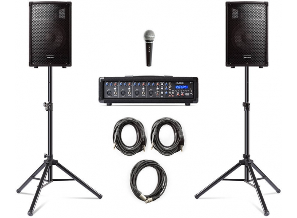Conjuntos completos PA Alesis PA System in a Box Bundle
