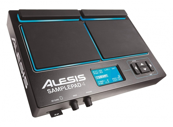 Pads de Sampling e Percussão Alesis Samplepad 4