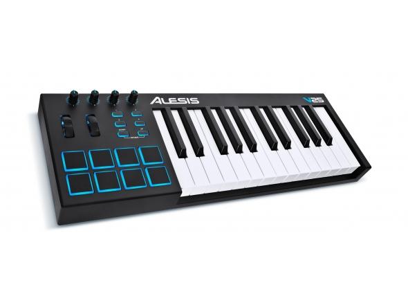 Teclados MIDI Controladores Alesis V25