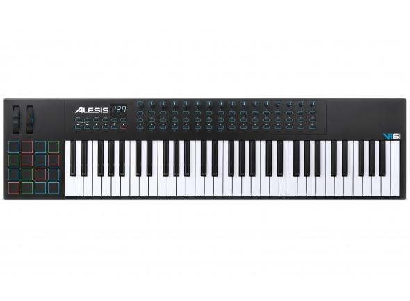 Piano Digital/Teclados MIDI Controladores Alesis VI61