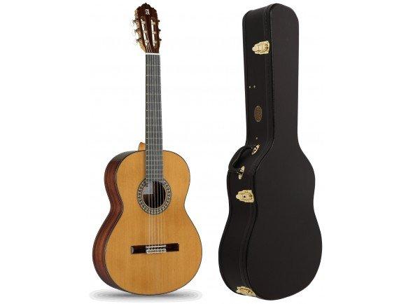 Guitarra Clássica (adulto) 4/4 Alhambra 5P Pack  Pack Alhambra 5P + Estojo