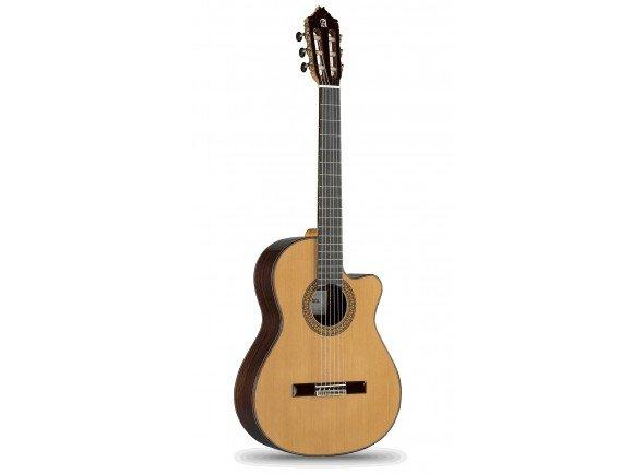 Guitarras clássicas eletrificadas/Guitarras clássicas eletrificadas Alhambra 9P CW E2