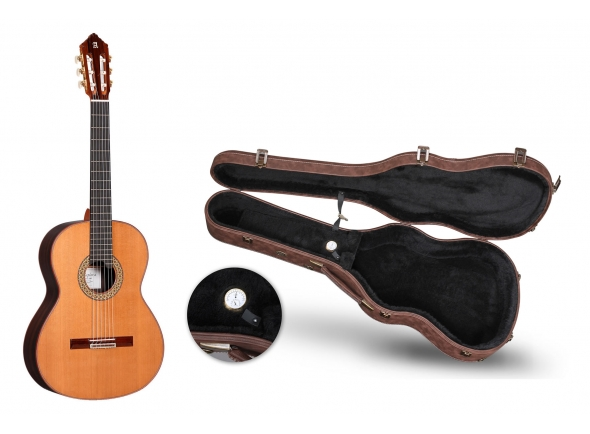 Guitarra Clássica/Guitarra Clássica Alhambra Premier Pro Exótico