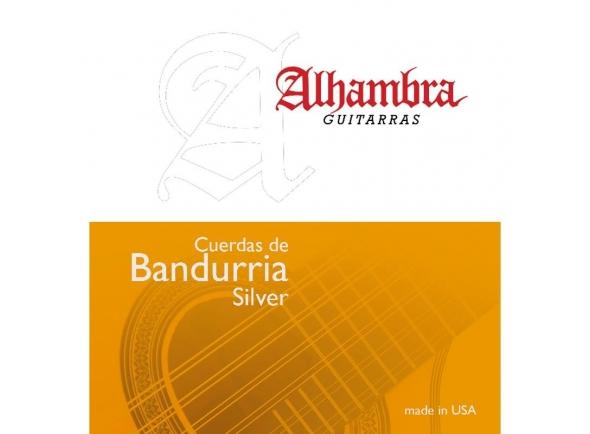 Jogos de cordas para guitarra clássica Alhambra Silver Cordas de Bandurria