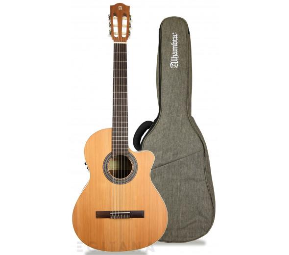 Guitarras clássicas eletrificadas Alhambra Z-Nature CW EZ