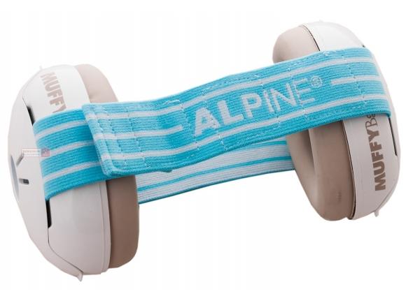 Auscultadores e protecção auricular Alpine Muffy Baby Gehörschutz Blue
