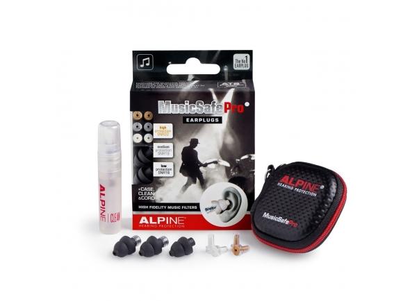 Proteção auditiva Alpine MusicSafe Pro 2019 Earplugs, Black