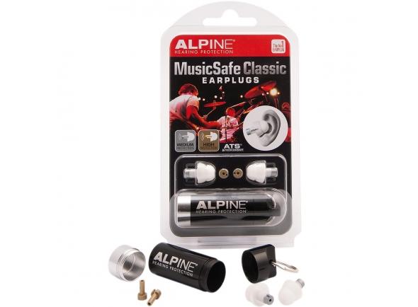 Auscultadores e protecção auricular Alpine Protecçao Auditiva MusicSafe Classic 2 Niveis MUSICSAFECLASSIC