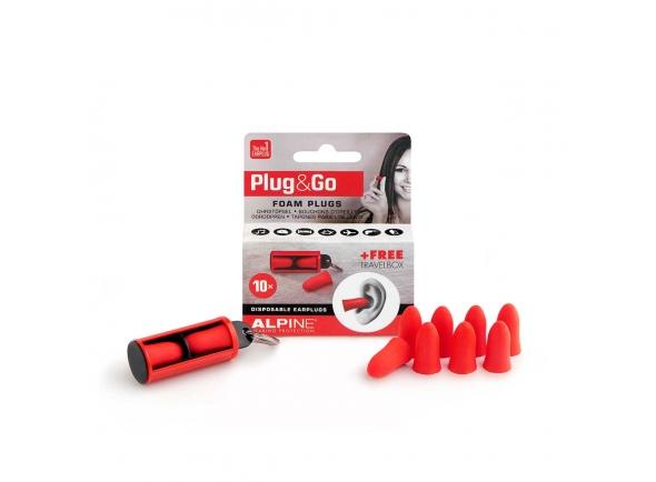 Auscultadores e protecção auricular Alpine Protecçao Auditiva Plug&Go 5 Pares PLUGGO