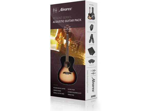Conjuntos de guitarra acústica Alvarez  RF26SSB-AGP Satin Sunburst