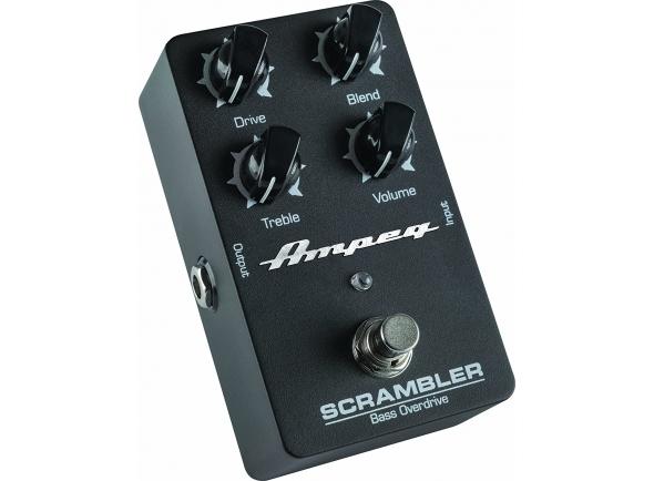Pedal de distorção Ampeg Scrambler Bass Overdrive