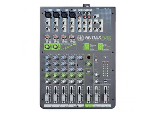 Mesa de Mistura Analógica ANT ANTMIX 8 FX