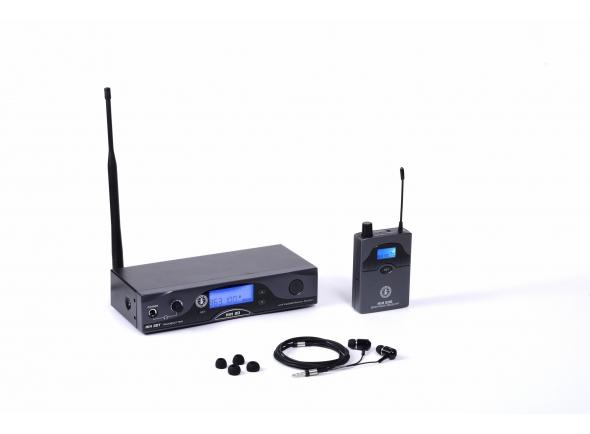 Monitorização in-ear Wireless ANT MIM 20 incl. Beyer.