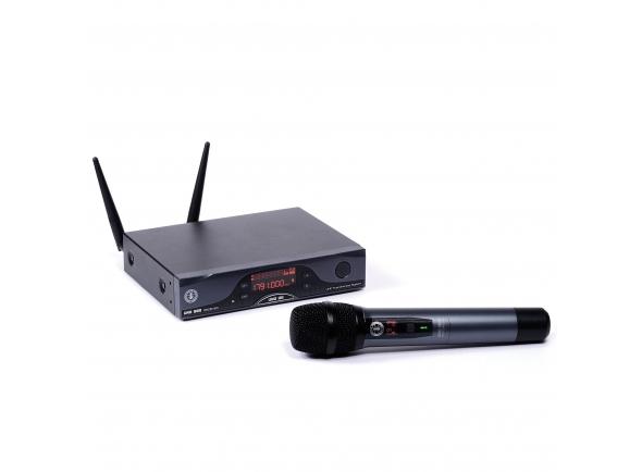Sistema sem fios com microfone de mão ANT UNO G8 HDM