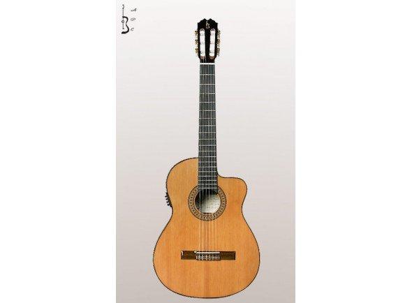 Guitarras clássicas eletrificadas/Guitarras clássicas eletrificadas APC 5C CW