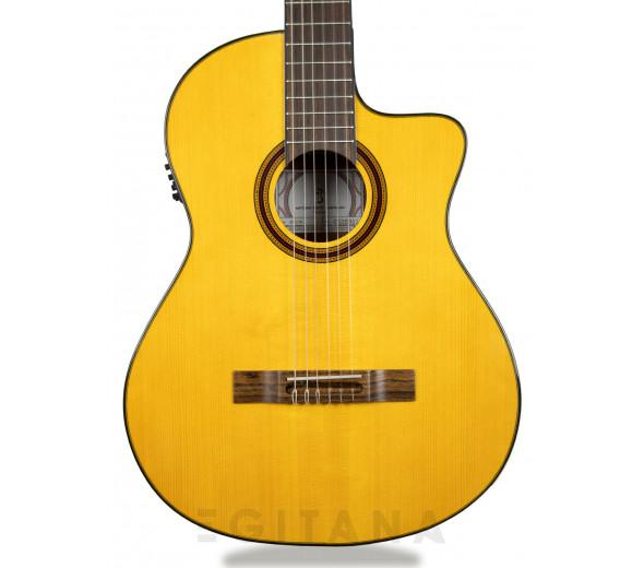 Guitarra de Flamenco/Guitarras clássicas eletrificadas APC 5F CW