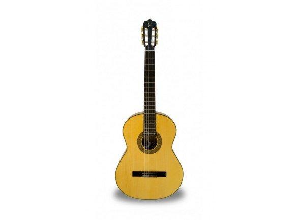 Guitarra de Flamenco APC 5F  Guitarra Flamenca APC 5F - Tampo: Spruce Maciço - Aros e Fundo: Maple - Braço: Mogno - Escala: African Blackwood - Acabamento: Alto Brilho