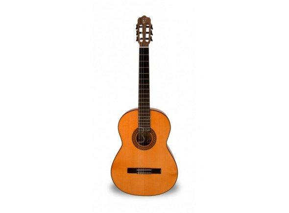 Guitarra de Flamenco APC 9F  Guitarra Flamenca APC 9F - Tampo: Spruce Maciço - Aros e Fundo: Cipreste Maciço - Braço: Mogno - Escala: African Blackwood - Acabamento: Alto Brilho