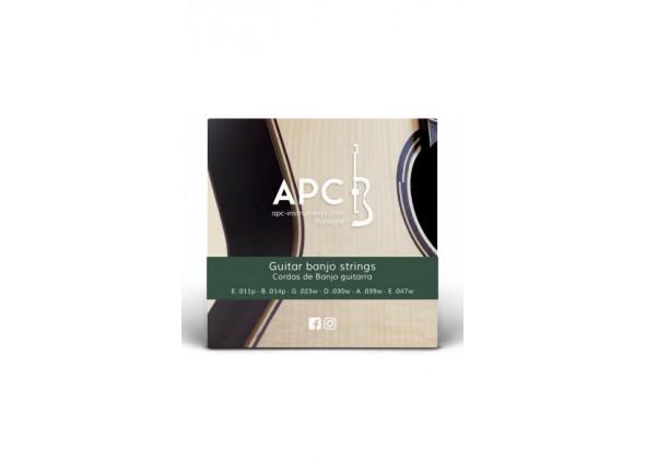 Cordas para Banjos/Jogos de cordas para banjo APC  Cordas - Banjo Guitarra
