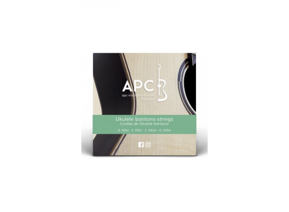 Cordas para Ukulele/Jogos de cordas para ukulele APC  Cordas - Ukulele BARITONO