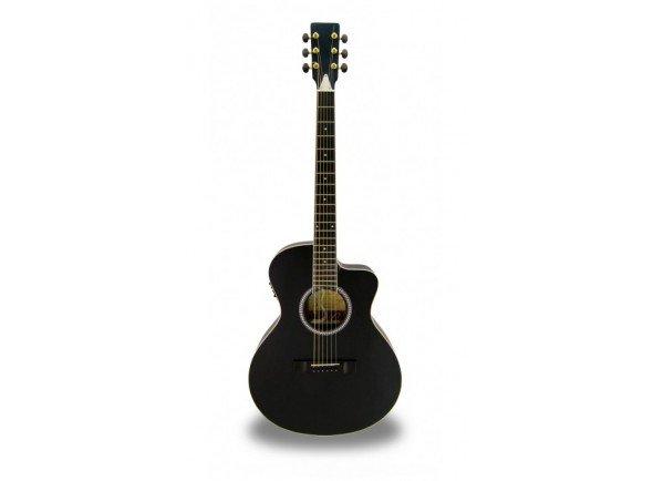 Guitarra Acústica eletrificada 4/4/Guitarras Folk APC EA 100 BLK CW