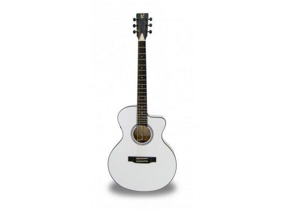 Guitarra Acústica eletrificada 4/4/Guitarras Folk APC EA 100 WHT CW