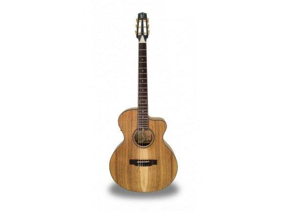 Eletrificada Crossover/Guitarras clássicas eletrificadas APC EA300 KOA KOA CROS CW