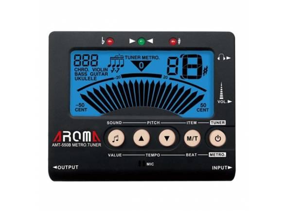 Metrónomo / Afinador/Afinador Aroma AMT-550B