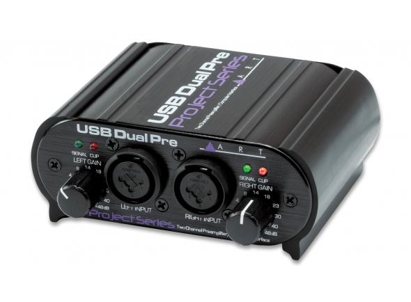 Pré-amplificador ART Dual Pre USB