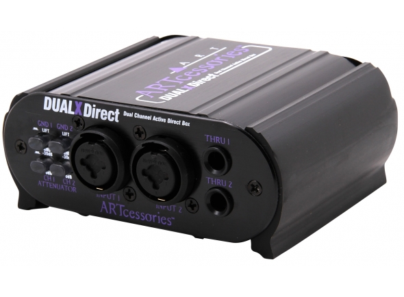 Periféricos ART Dual X-Direct Dual Channel Active DI Box