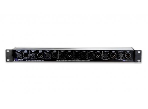 Repartidores de sinal ART S8-3-Way Microphone Splitter